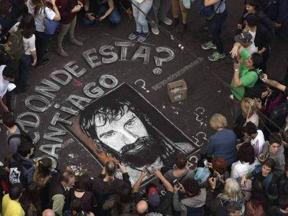 Manifestantes en Buenos Aires el pasado 1 de septiembre.