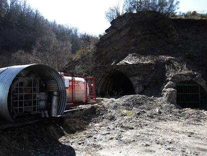 Instalaciones de la mina La Escondida, en Caboalles de Arriba (León).
