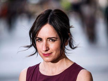 La cineasta chilena Maite Laberdi el pasado 4 de marzo, en Madrid.
