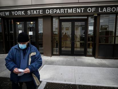 Oficina del Departamento de Trabajo en Nueva York.