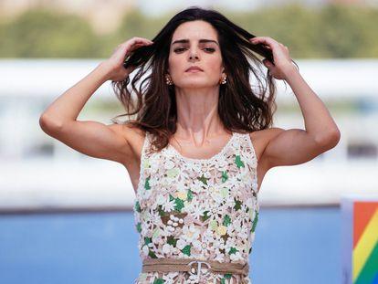 La actriz Clara Lago, en Málaga.