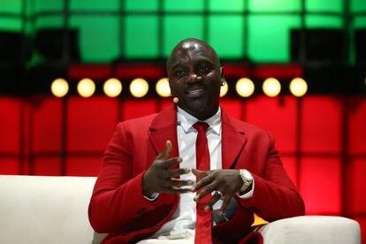 El rapero Akon, en Lisboa, Portugal, el pasado noviembre.