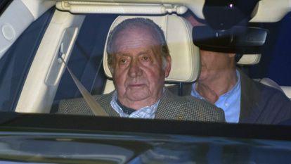 El rey emérito Juan Carlos I, en una imagen de archivo.
