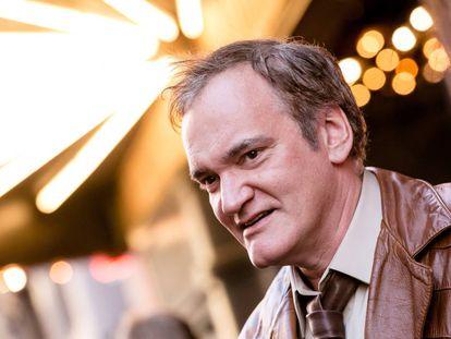 Quentin Tarantino, que acaba de estrenar su novena película 'Érase una vez en... Hollywood', durante un evento celebrado en agosto de 2017 en Los Ángeles.
