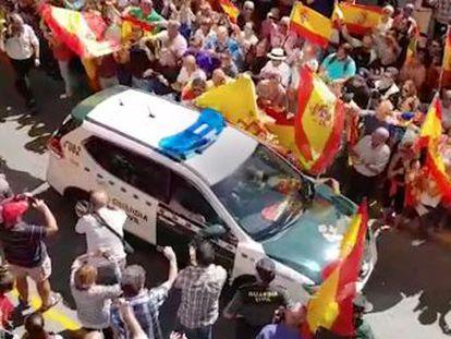Interior desautoriza estos actos, que se han repetido en varias ciudades de España