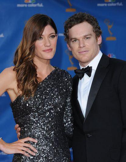Jennifer Carpenter y Michael C. Hall, en una imagen del 29 de agosto de 2010