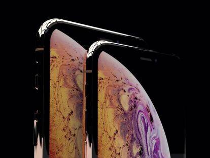 Adaptación de las imágenes promocionales filtradas de los dos modelos cuyo probable nombre será iPhone Xs