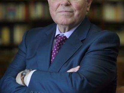 El rector de la Universidad Menéndez Pelayo, César Nombela. / Cristobal Manuel