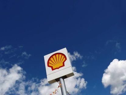 Logo de la petrolera Shell.