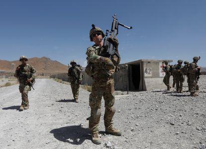 Estados Unidos: Biden retirará todas las tropas de Afganistán el 11 de septiembre   Internacional   EL PAÍS