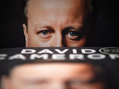 David Cameron, ex primer ministro británico.