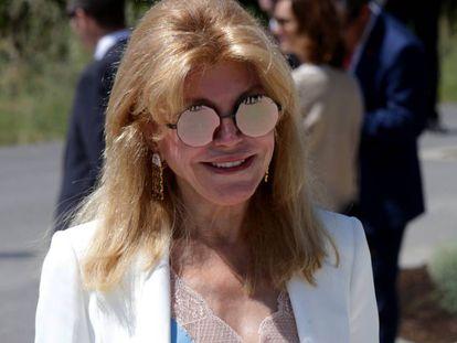 Carmen Cervera en Álava el pasado mes de junio.