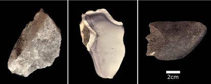 Herramientas de piedra fabricadas hace 1,8 millones de años.