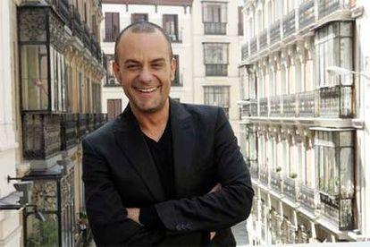 Tomaz Pandur, en la terraza del teatro María Guerrero.