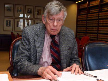 El juez Thomas Griesa, en una imagen de 2010