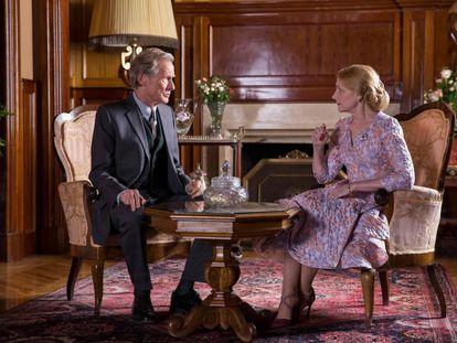 Bill Nighy y Patricia Clarkson 'La librería', de Isabel Coixet.