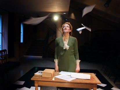 Clara Sanchis, en 'Una habitación propia', de Virginia Wolf.