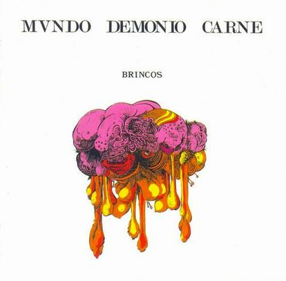 La portada del disco censurada, tal y como se editó en España en 1970.