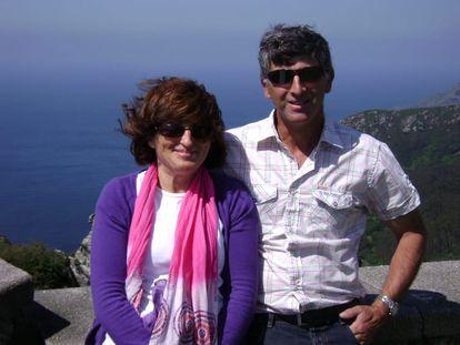 Elisa Abruñedo y Manuel Fernández en 2010.
