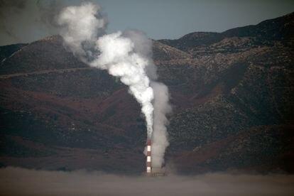 Planta térmica de carbón en Megalopoli, Grecia.