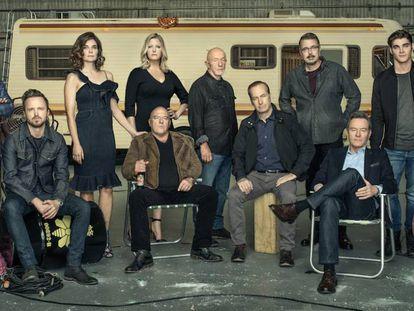 Los protagonistas de 'Breaking Bad' se reúnen por el 10º aniversario de la serie