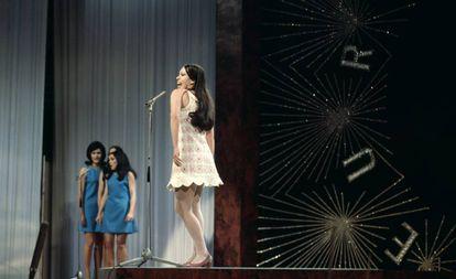 Massiel en el Festival de Eurovisión.