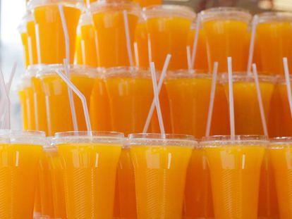 Ni siquiera los zumos naturales tienen las mismas características que la fruta.