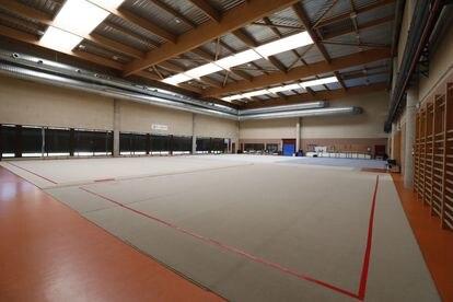La sala de gimnasia rítmica del CAR de León. MARCIANO PÉREZ/DIARIO DE LEÓN