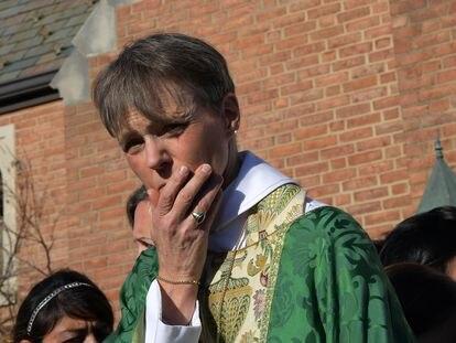 La obispo de la diócesis episcopal de Washington DC, Mariann E. Budde.