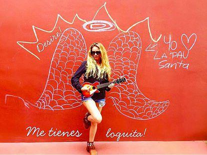 La cantante Paulina Rubio en una foto que subió en la red social Instagram el pasado 2 de junio.