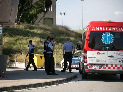 Fèlix Millet llegó en ambulancia a la cárcel de Brians 2.