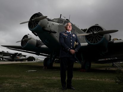 El coronel Juan Toledano, director del Museo de Aeronáutica y Astronáutica en Madrid.