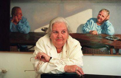 Carmen Balcells, fotografiada el 3 de mayo de 2000.