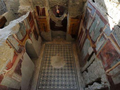 La 'domus' de Criptoporticus, una de las seis casas restauradas en Pompeya.