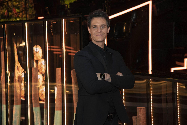 El presentador Christian Gálvez, en el acto 'Juntos brillamos más' de Ferrero Rocher en Madrid el miércoles.