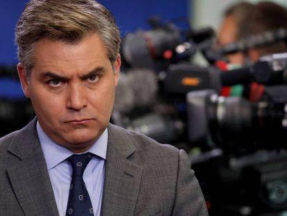 El corresponsal de CNN en la Casa Blanca Jim Acosta.
