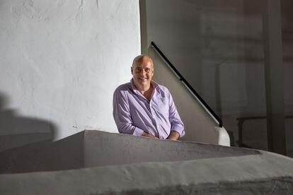 José Luis Benítez, Presidente de Spain Nightlife, el pasado jueves en Ibiza.
