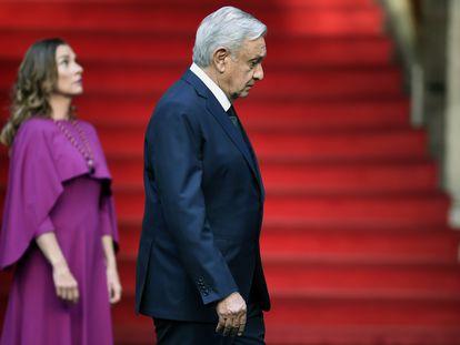López Obrador, en la presentación de su segundo informe de gobierno.