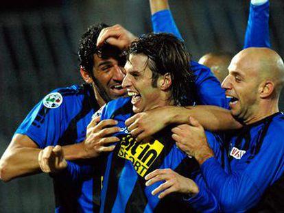 Cristiano Doni, con el Atalanta en 2007.