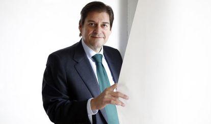 Raúl Díaz-Varela, vicepresidente de  Indukern, el miércoles 11 de febrero en las oficinas de la empresa de Madrid.