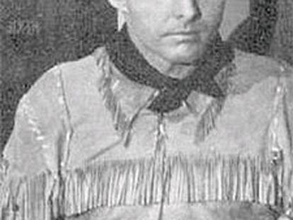 Johnny Carpenter, en una de sus películas.