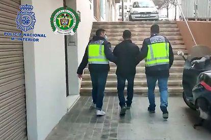 La Policía Nacional detiene en Alicante a Luis J. Castro, 'El Zarco', uno de los criminales buscados en Colombia.