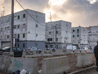 Viviendas en la barriada del Camp Redó, en Palma de Mallorca.