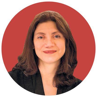 La editora Pilar Reyes.