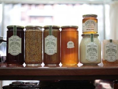 Algunos tipos de miel de La Moderna Apicultura