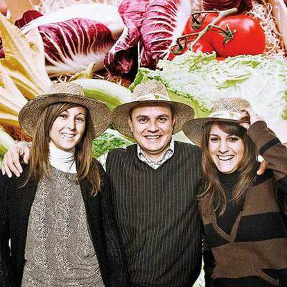 Los responsables de Directo del Campo: Cristina Llorente, Salvador Umbert y Aida Gil
