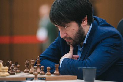Teimur Radyábov, durante la Copa del Mundo, que ganó, de 2019 en Janti Mansiisk (Rusia)