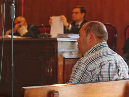El empresario Ángel Martínez, Lito, en la Audiencia de Pontevedra.