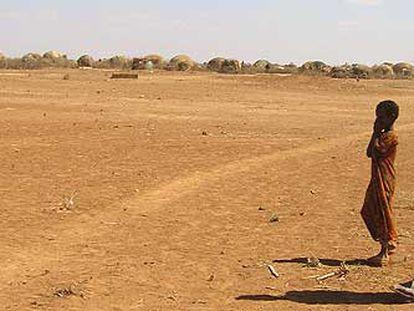 Paisaje de la región de Denan, en Etiopía, uno de los países africanos afectado por la sequía.