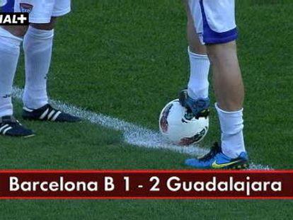 Barcelona B, 1-Guadalajara, 2